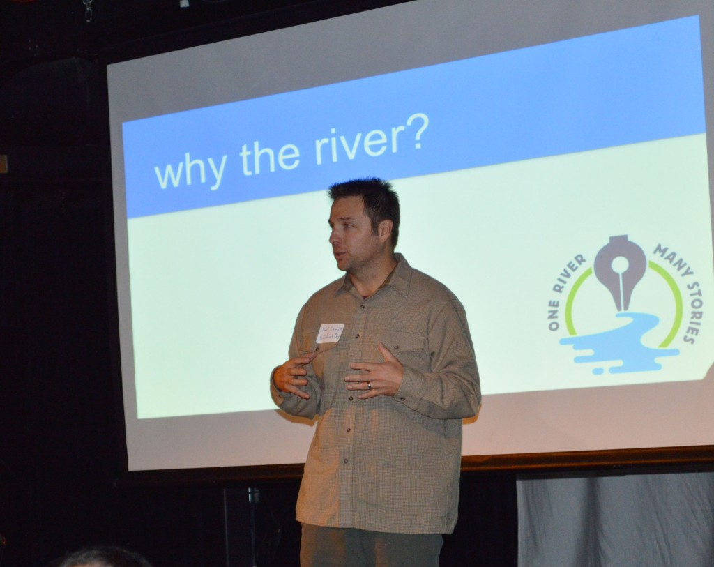 Paul Lundgren speaks at Duluth Media Summit